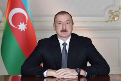 Президент Азербайджана, Верховный главнокомандующий Ильхам Алиев встретился с руководящим и личным составом азербайджанской армии по случаю Дня Вооруженных сил