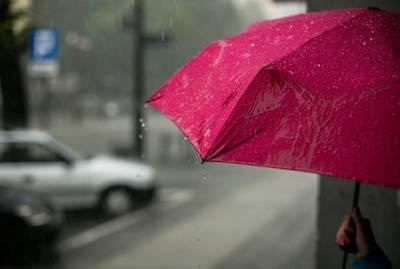 Большинство регионов Украину накроют дожди, град и грозы