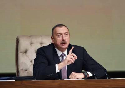 Алиев заявил о намерении увеличивать военную мощь Азербайджана