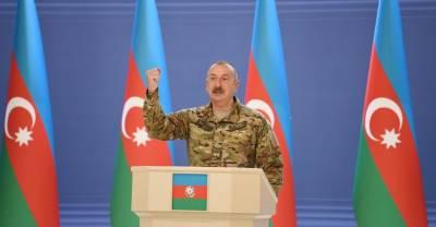 Алиев заявил об увеличении численности армии Азербайджана