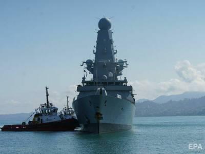 Британский эсминец Defender после инцидента у берегов Крыма пришел в Батуми