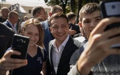 Зеленский назвал молодежь надеждой Украины