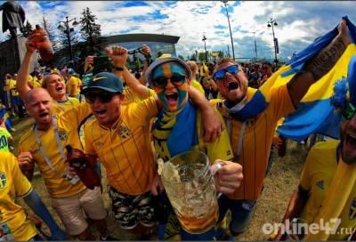 Шведских болельщиков отправляют на карантин после посещения матчей в Петербурге
