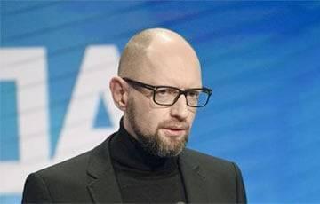 Яценюк: Запад должен сделать все возможное для интеграции Украины и свободной Беларуси в НАТО и ЕС