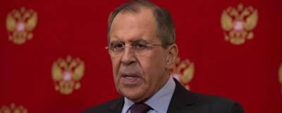 Лавров заявил, что Евросоюз «подпевает» позиции США по России