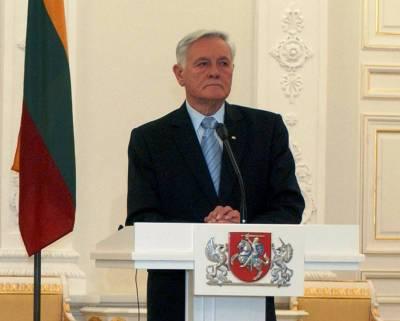 В Генпрокуратуре Беларуси назвали экс-президента Литвы Адамкуса помощником Минского мясника