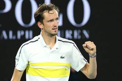 Медведев сохранил вторую строчку в рейтинге ATP
