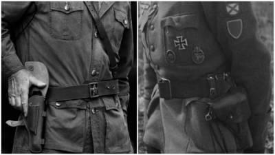 Почему немецкие солдаты носили пистолет с левой стороны, а русские – с правой