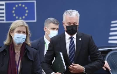 Президент Литвы не будет изолироваться из-за болезни премьера Люксембурга