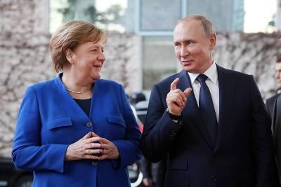 Меркель призвала обсуждать тему России непосредственно с Путиным