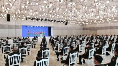 Алиев заявил о планах увеличить численность азербайджанской армии