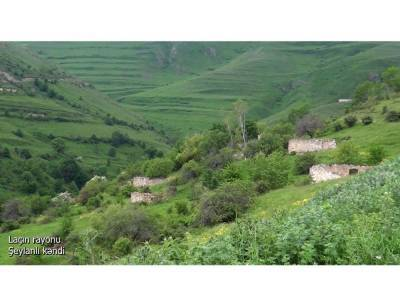 Освобожденное село Шейланлы Лачинского района (ВИДЕО)