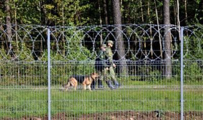 Погранслужбе Литвы выделили 200 автоматов для усиления безопасности границ