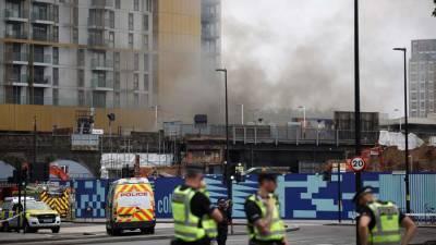 В Лондоне в результате пожара пострадали два человека