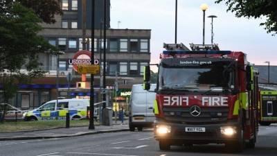 Взрыв в Лондоне: двое человек пострадали, пожар локализован