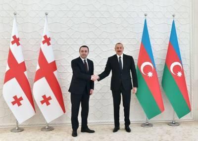 Президент Ильхам Алиев позвонил премьер-министру Грузии