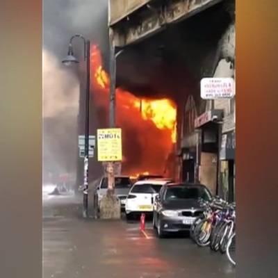 Пожар в Лондоне у станции метро локализован