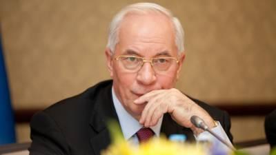 Азаров обвинил Киев в попытке ввести презумпцию вины для жителей Донбасса