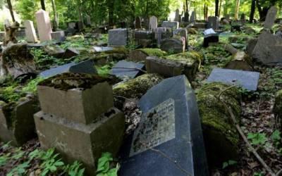 Разорённое еврейское кладбище в Каунасе привлекло внимание правительства США