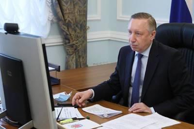 Губернатор Петербурга повторно привился против коронавируса