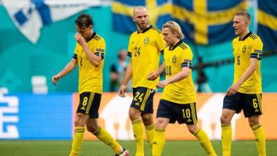 Тренерские штабы Швеции и Украины объявили стартовые составы на матч Евро-2020