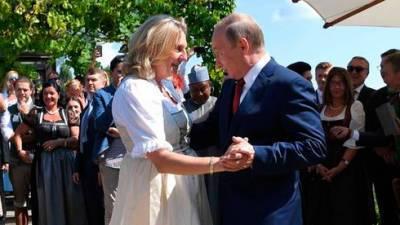 Танцевавшая с Путиным Карин Кнайсль вошла в совет директоров «Рофнефти»