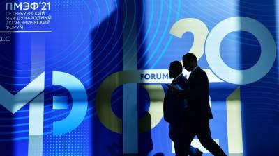 Торжественное открытие Петербургского международного экономического форума — 2021