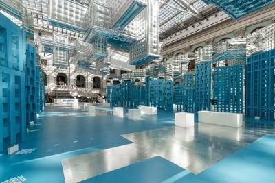 Проекты домов по программе реновации представили на выставке в Москве