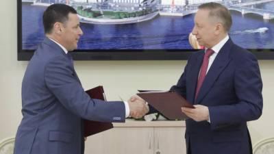 На ПМЭФ главы Петербурга и Ярославской области подписали план дорожной карты до 2025 года