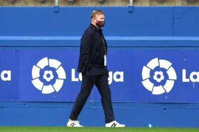 Куман останется главным тренером Барселоны