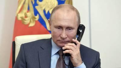 Путин провёл телефонный разговор с Раулем Кастро