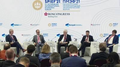 На ПМЭФ приехали две тысячи иностранных бизнесменов, которые заинтересованы в сотрудничестве с Россией