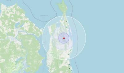 Ночью на севере Сахалина произошло землетрясение магнитудой 3.9