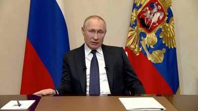 Прямая линия с президентом России Владимиром Путиным начнется ровно в полдень