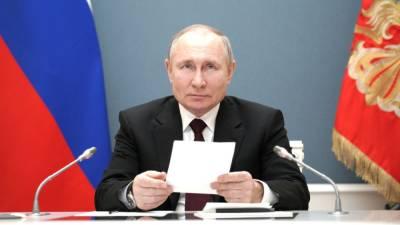 Президент России назвал вакцину, которой привился от COVID-19
