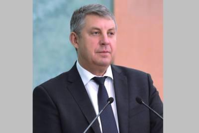 Брянский губернатор следит за прямой линией президента России