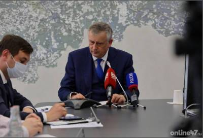 Александр Дрозденко рассказал, как «прямые линии» помогают решать актуальные вопросы жителей Ленобласти