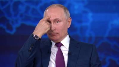 Прямая линия с Владимиром Путиным. Включи голову: Путин сравнил руководство США со шкодливым ребенком