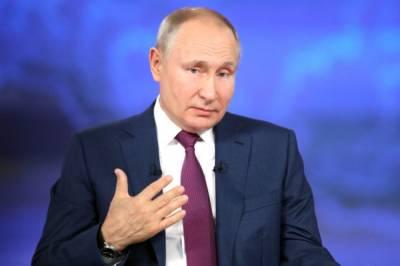 Путин надеется, что его главное достижение на посту президента РФ впереди