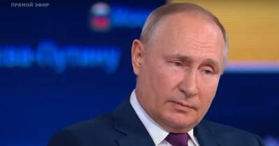 """На """"Прямой линии"""" Путина атаковали """"хакеры из Кузбасса"""" (видео)"""