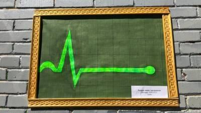 В Шушарах появился арт-объект, посвященный прямой линии с президентом России
