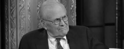 Скончался экс-министр обороны США Дональд Рамсфельд
