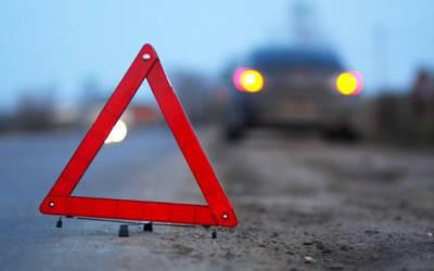 Машина из кортежа ПМЭФ попала в ДТП в центре Петербурга