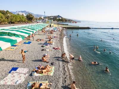 В аннексированном Крыму заявили, что с начала года туда приехало уже 2 млн туристов