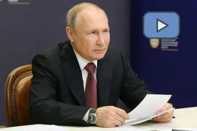 Выступление президента России Владимира Путина на пленарном заседании ПМЭФ