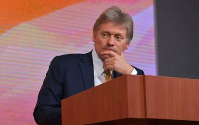Кремль о встрече Зеленского и Путина: предложений от Киева пока не получали