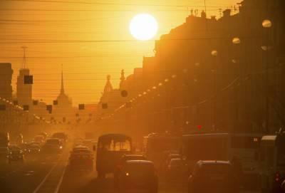 День без осадков и до +27 °C пообещали петербуржцам в субботу