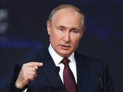"""Путин заявил о завершении работ по прокладке труб первой нитки """"Северного потока – 2"""""""