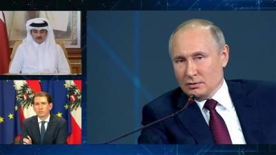 Президент России и политики из-за рубежа ответили на вопросы по одной из традиций Петербургского форума