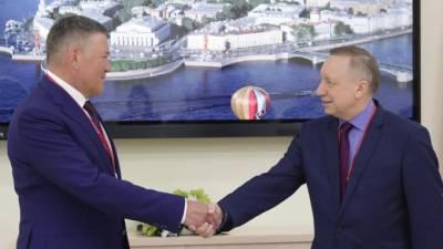 На ПМЭФ главы Петербурга и Вологодской области подписали план дорожной карты до 2026 года